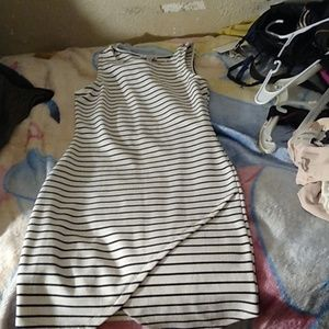 Stripped dress. Size medium